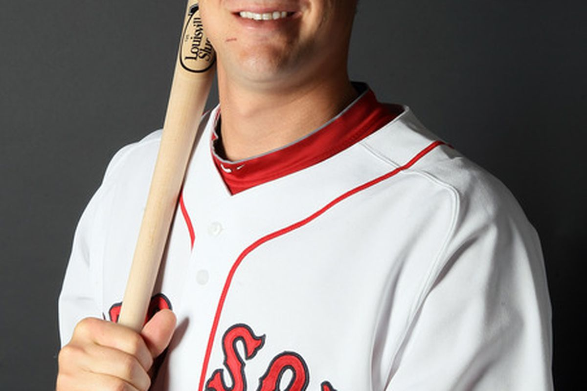 FT. MYERS FL - FEBRUARY 20:  Ryan Lavarnway #83 of the Boston Red Sox poses for a portrait during the Boston Red Sox Photo Day on February 20 2011 at the Boston Red Sox Player Development Complex in Ft. Myers Florida  (Photo by Elsa/Getty Images)