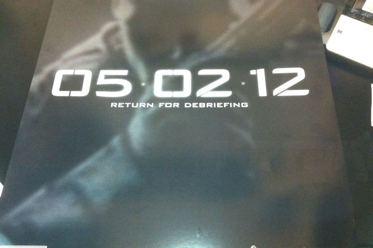 Call of Duty Black Ops 2 teaser poster