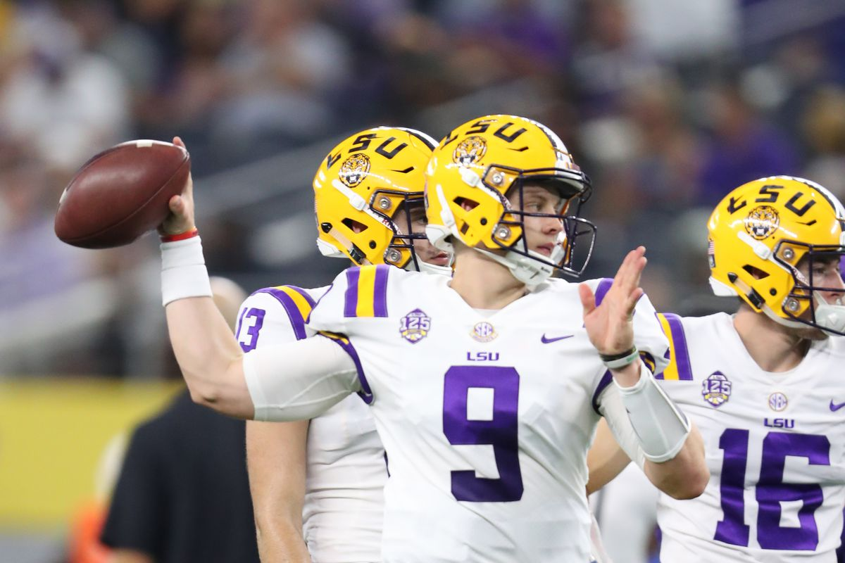 new style 43909 2116d Meet Joe Burrow: How the Ohio State transfer got to LSU ...