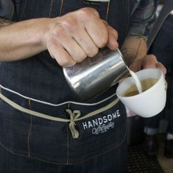 An apron in use!