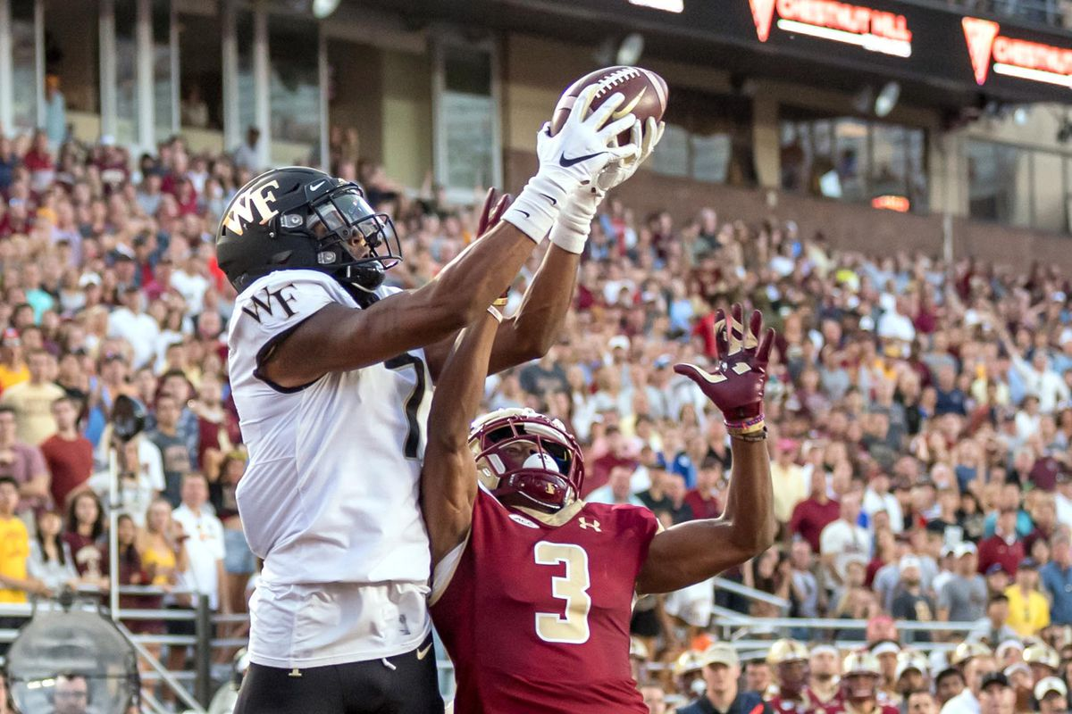Postgame Quotes: Hear From the Coach and Players as Wake Forest Beats  Boston College - BC Interruption