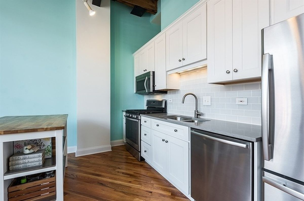 Quaint, simple Fulton River District loft can be had for under $300K ...