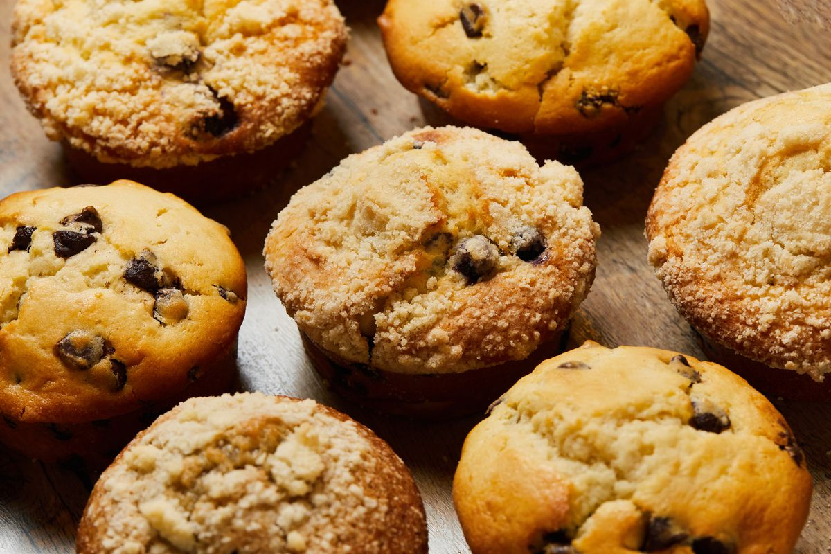 Blueberry muffins from the Assembly