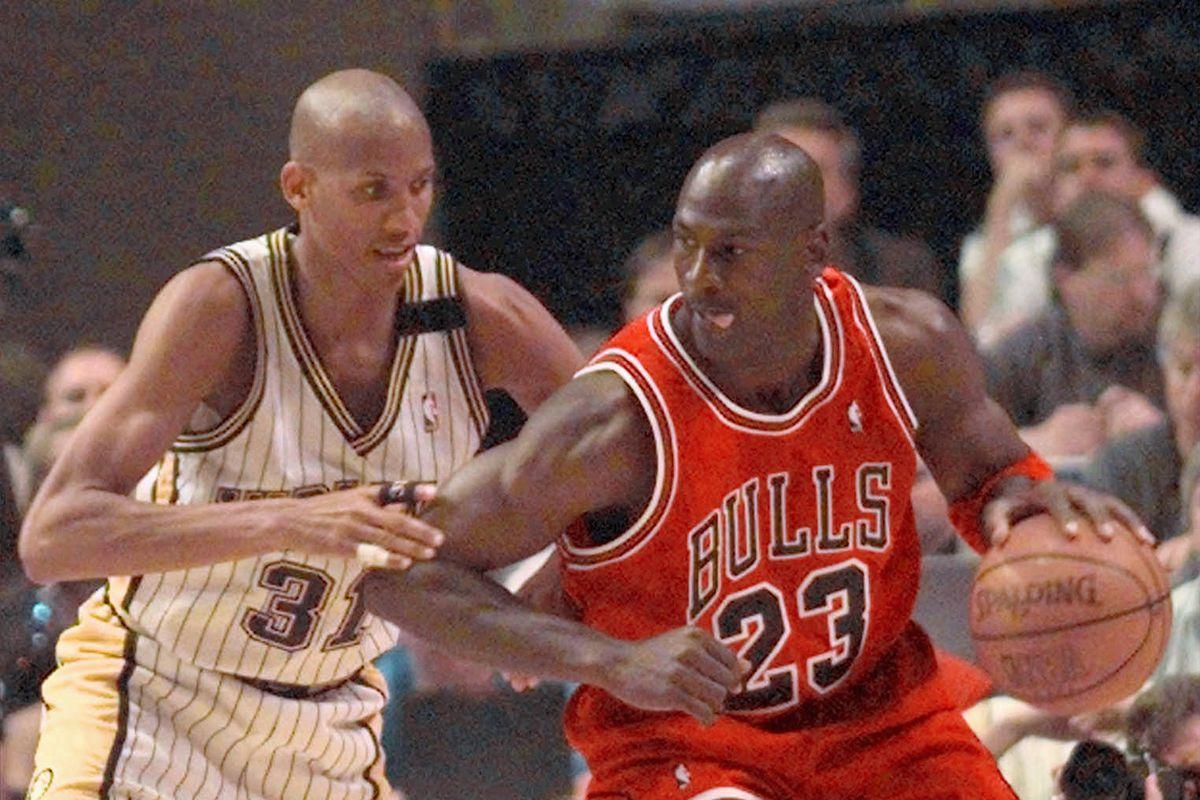 Reggie Miller said he had no desire to team up with Michael Jordan on the Bulls.