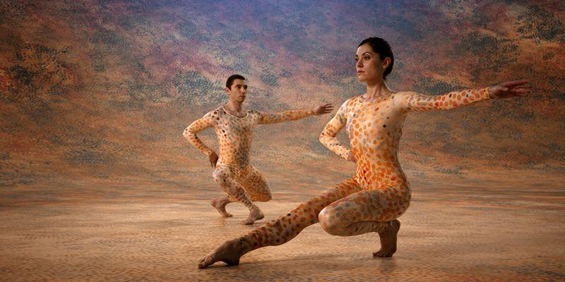 Dancers in Cunningham.