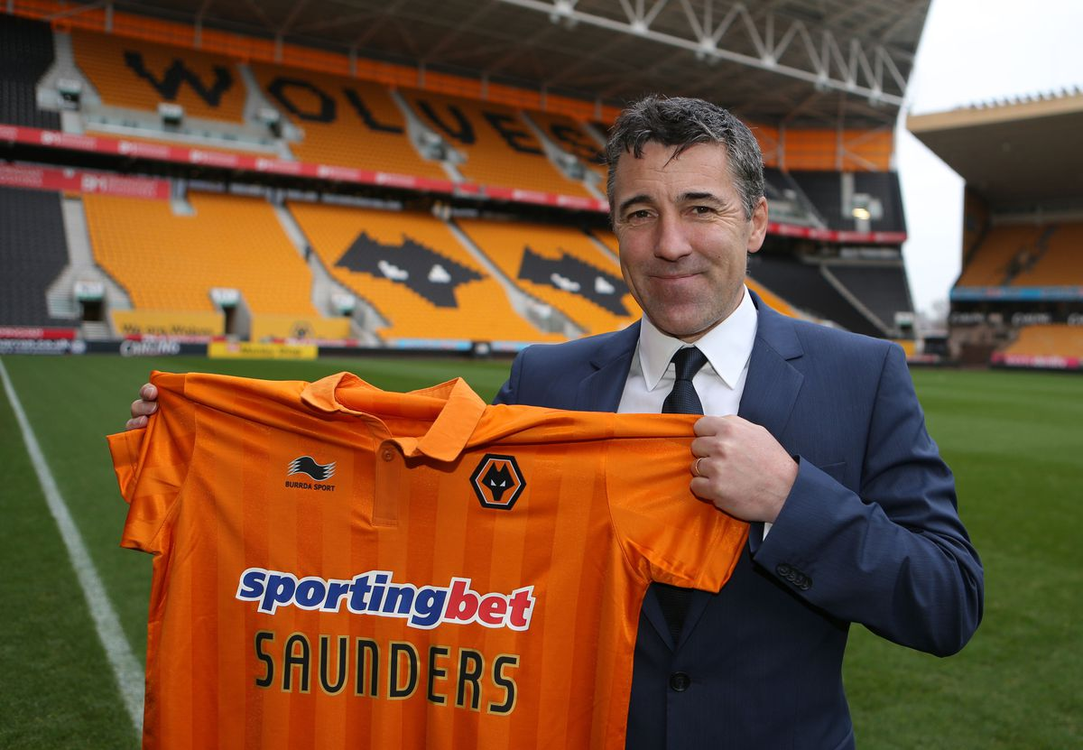 Soccer - Woverhampton Wanderers Press Conference - Dean Saunders Unveiling - Molineux