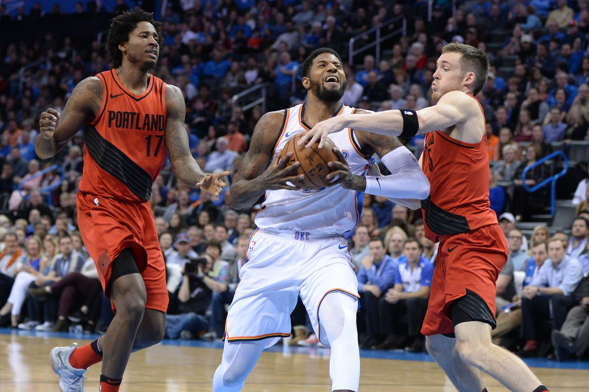thunder vs trail blazers - photo #45