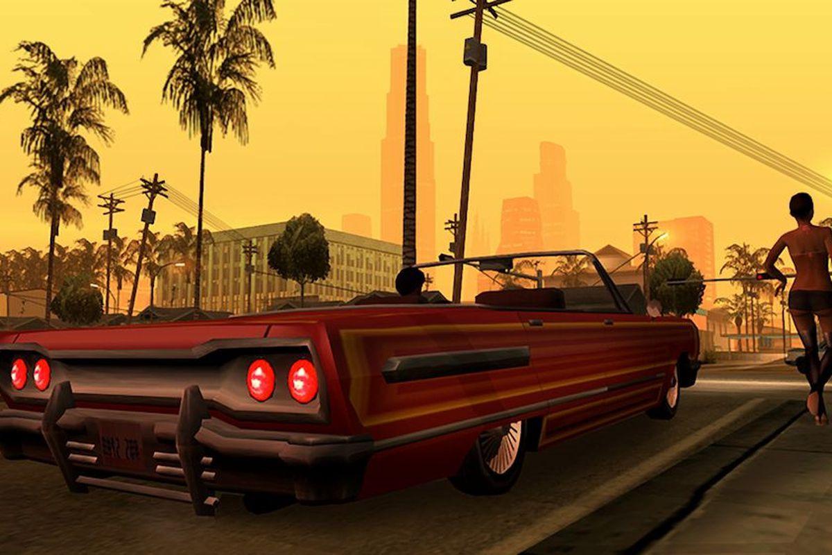 Grand Theft Auto San Andreas Rockstar Games