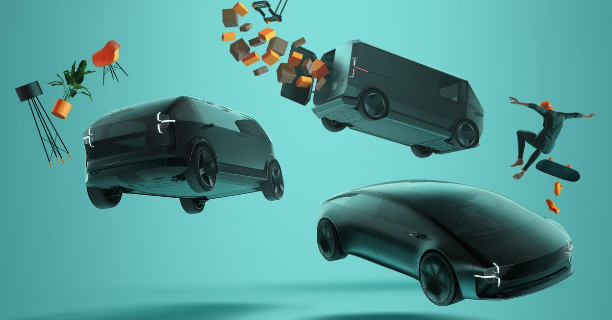 Canoo's CEO steps away as the startup shows off EV designs