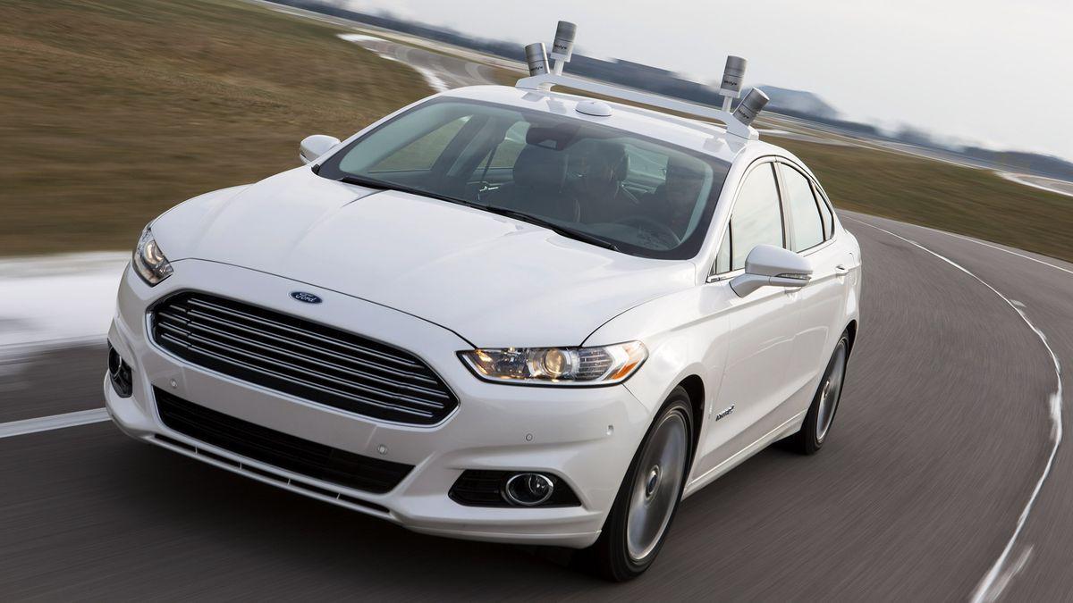 Ford Car Lidar