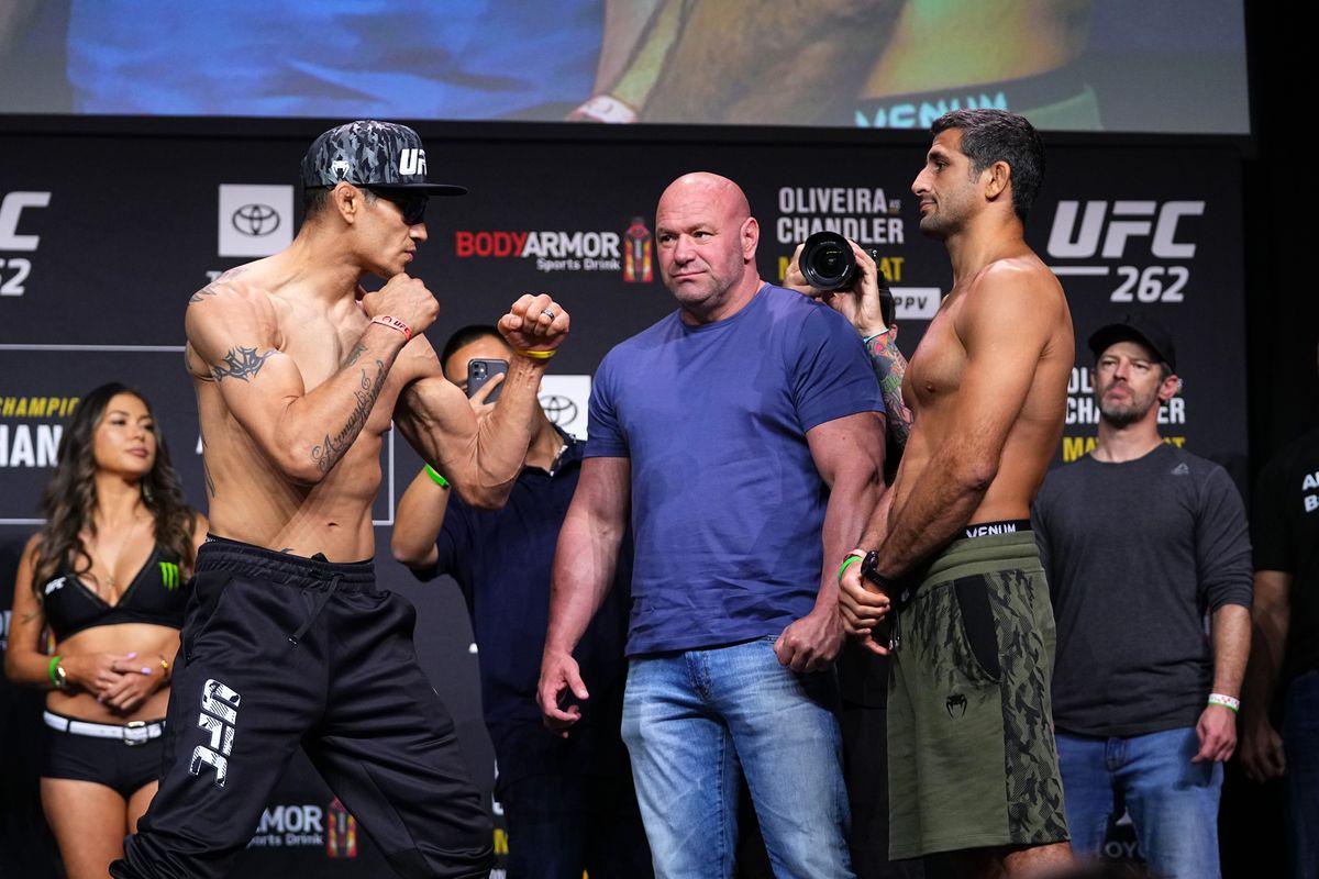 UFC 262: Weigh-in