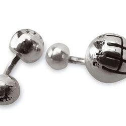 "Gear knob silver cufflinks, <a href=""http://store.ferrari.com/en/accessories/clothing-accessories/cufflinks/gear-knob-silver-cufflinks.html"">$400</a>"