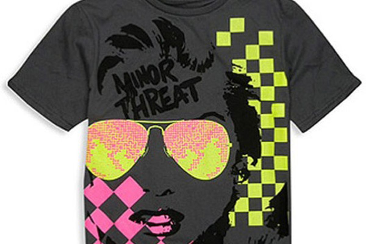 "Image via <a href=""http://pitchfork.com/news/34804-forever-21-sold-bootleg-minor-threat-shirts/"">Pitchfork</a>"