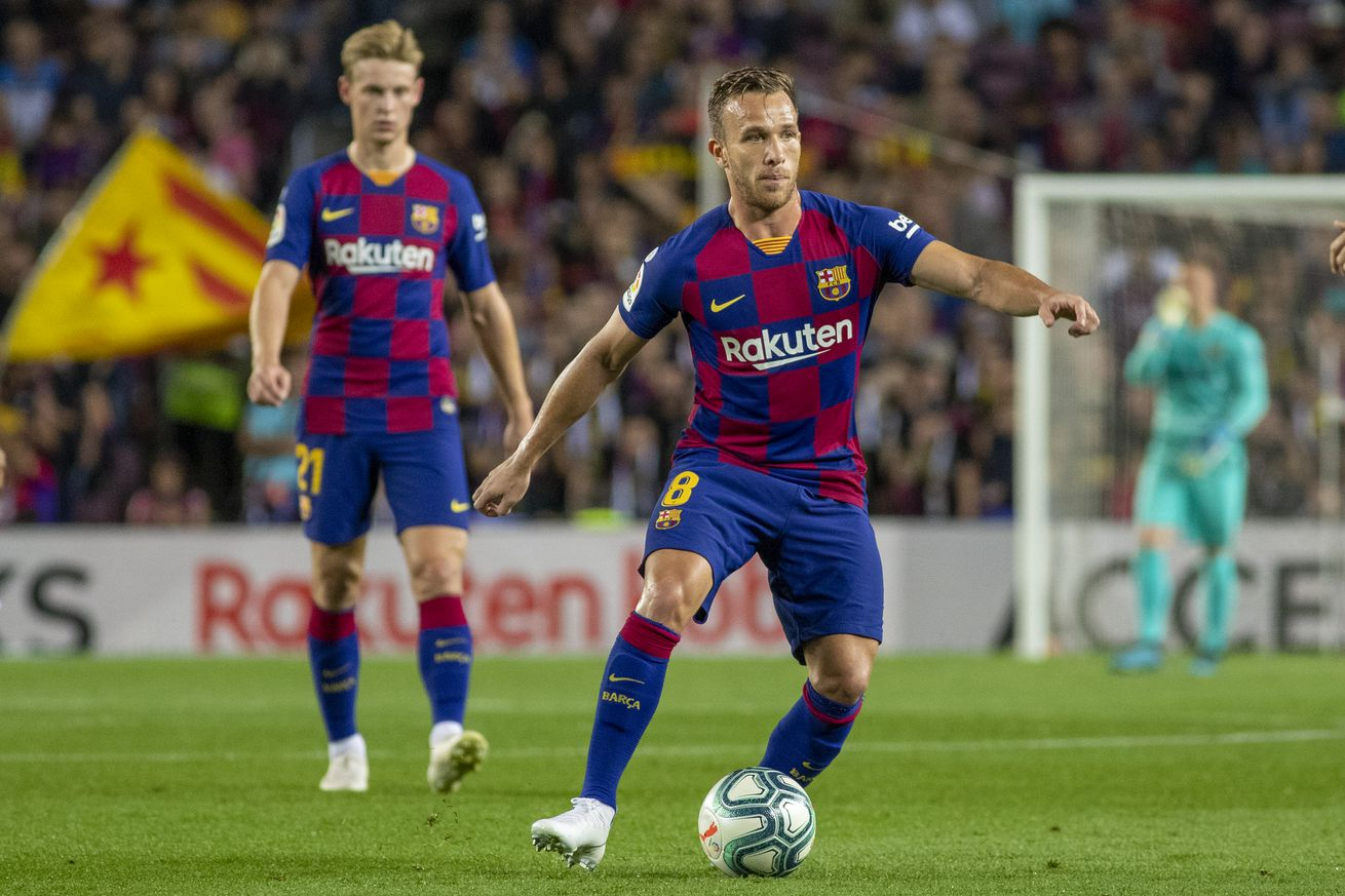Barcelona without De Jong and Arthur for Real Valladolid