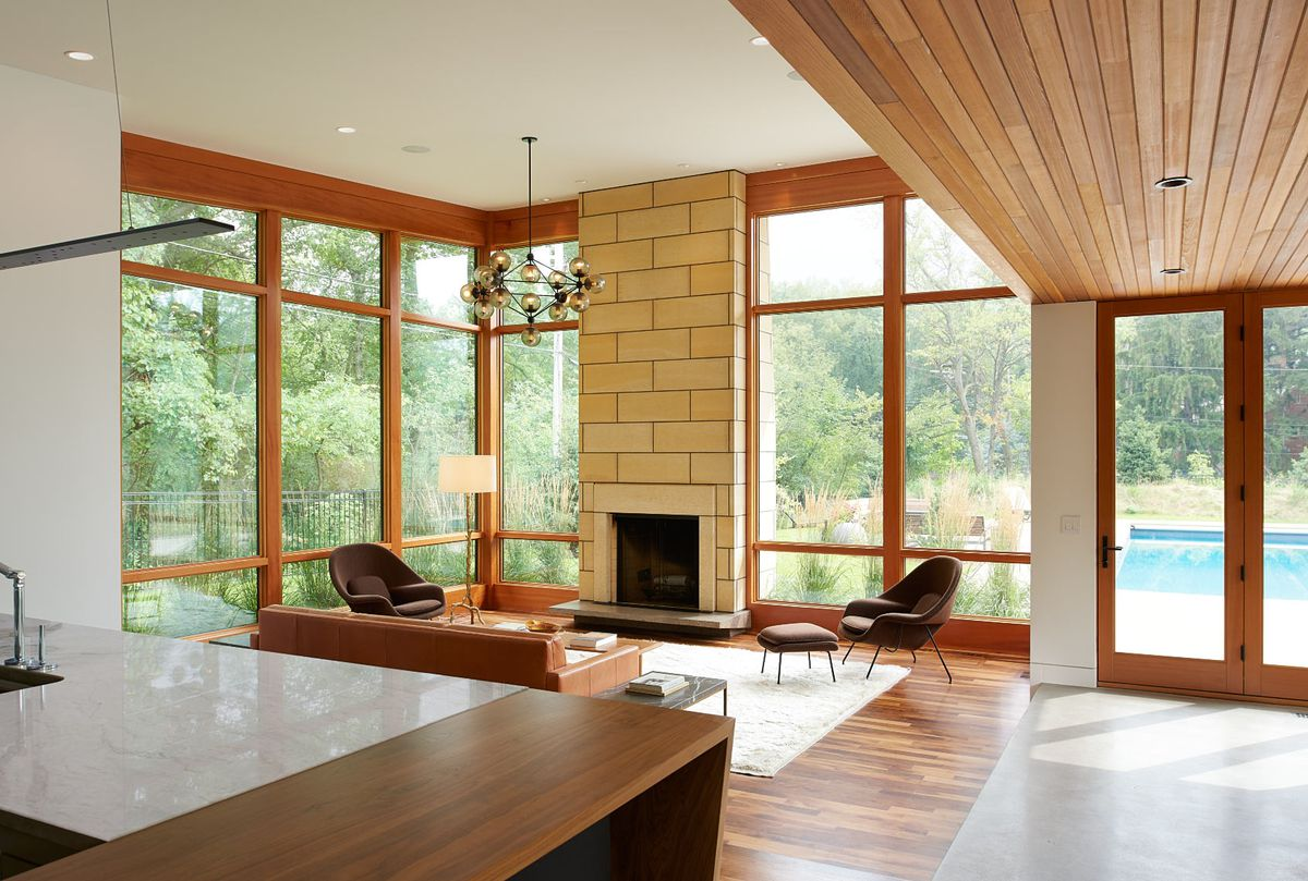 Modern ranch with pool house makes merry retreat in Minneapolis - Curbed