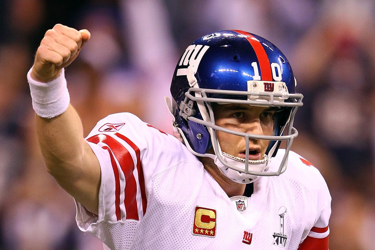 Can Eli Manning and the Giants give their fans another Super Bowl title to celebrate? (Photo by Al Bello/Getty Images)