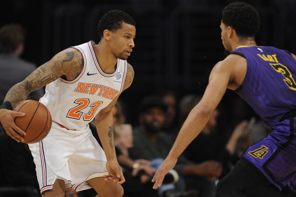 premium selection 011a8 313dd NBA Alumni Update: Knicks' Trey Burke finding stride after ...