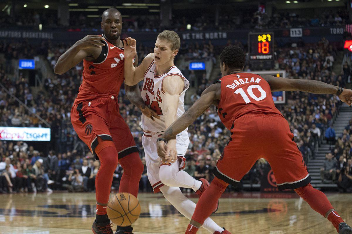 NBA: Chicago Bulls at Toronto Raptors