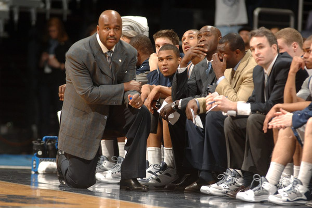 Will Georgetown's incoming recruiting class be ranked among the best in school history?  (Photo by Mitchell Layton/Getty Images)