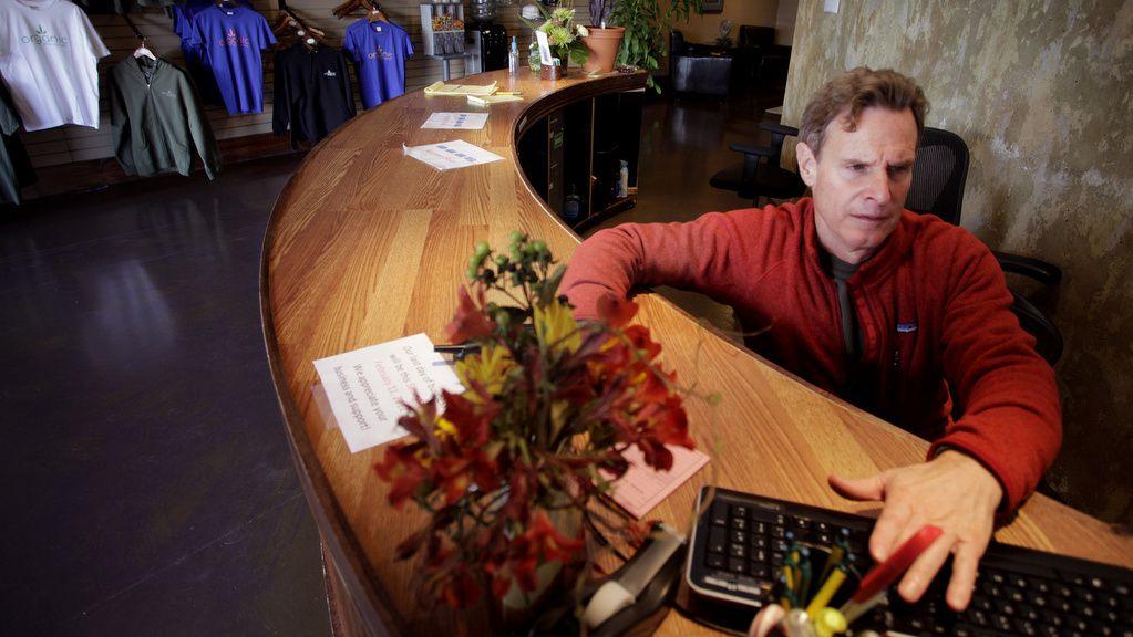 Steve Ackerman, owner of Fort Collins' Organic Alternatives dispensary, closed Saturday. Photo by Joe Mahoney / I-News
