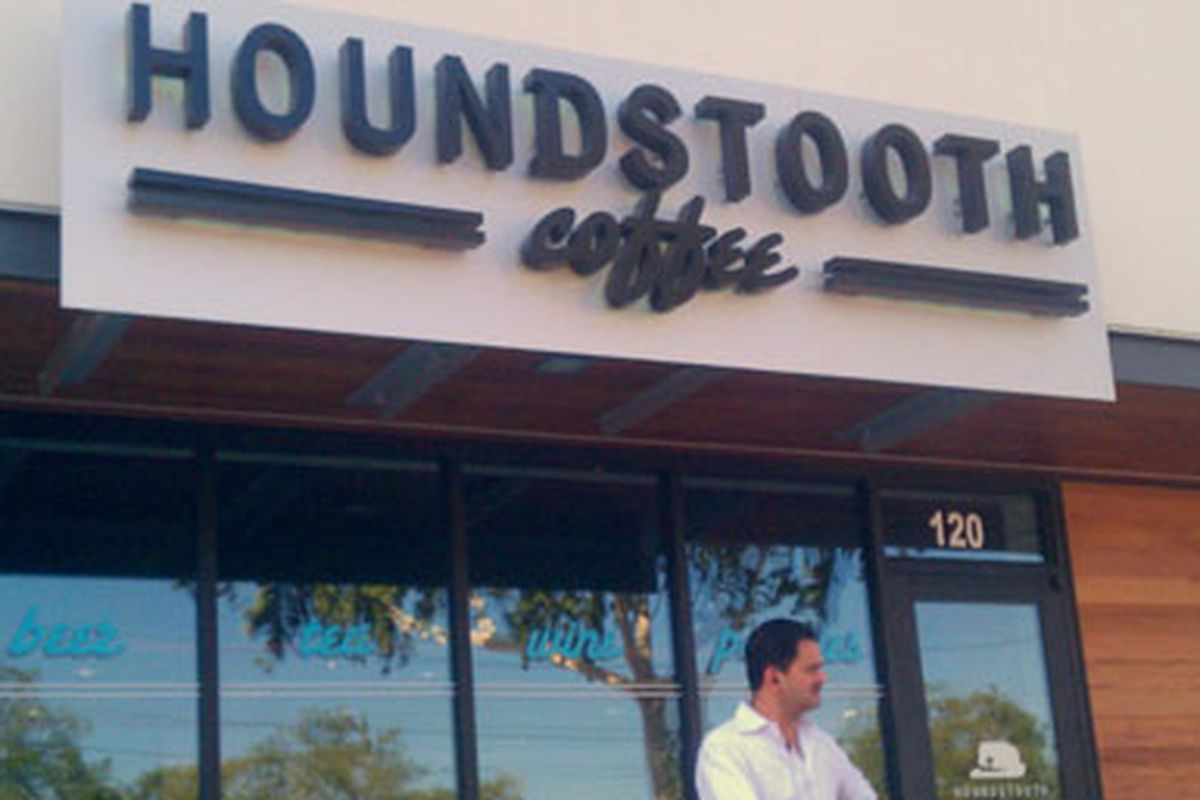 Houndstooth Coffee.