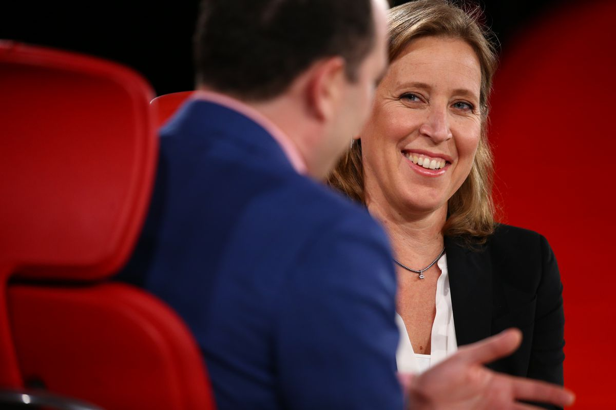 42b529a752 YouTube CEO Susan Wojcicki is at the center of a firestorm over the  platform's handling of a Vox journalist's harassment. Asa Mathat for Vox