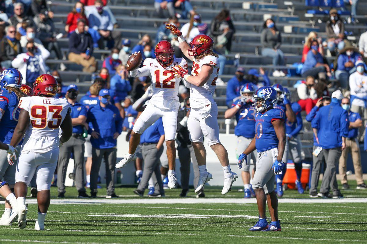 COLLEGE FOOTBALL: OCT 31 Iowa State at Kansas