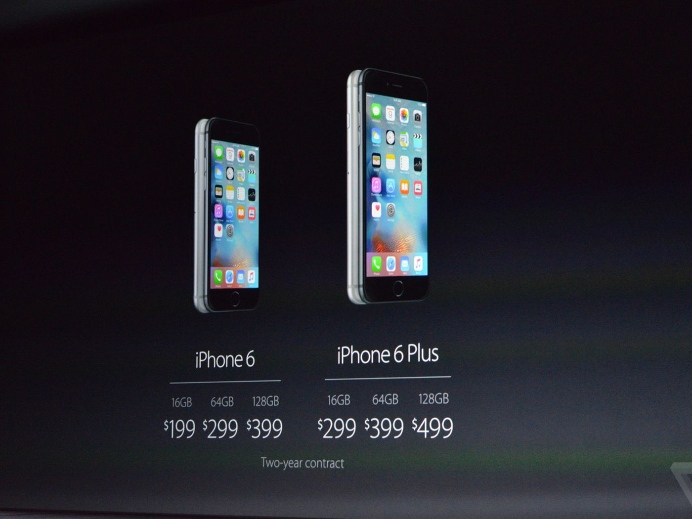 iPhone 6S release date September 25th, prices start at $199 and $299