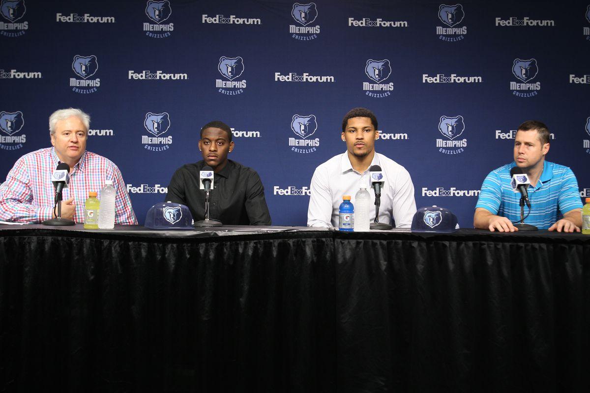 Memphis Grizzlies NBA Draft Press Conference