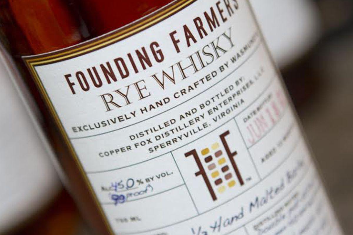 Found Farmers' whiskey.
