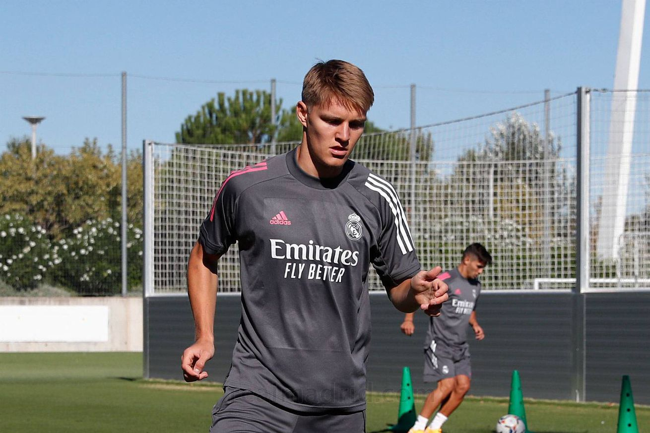 Real Madrid Complete Their First Training Session Of The 2020 - 2021 Season