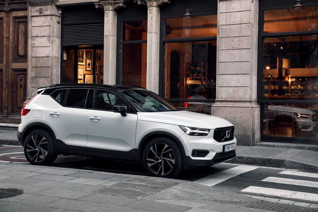 <em>The Volvo XC40, one of the cars available on Care by Volvo. </em>