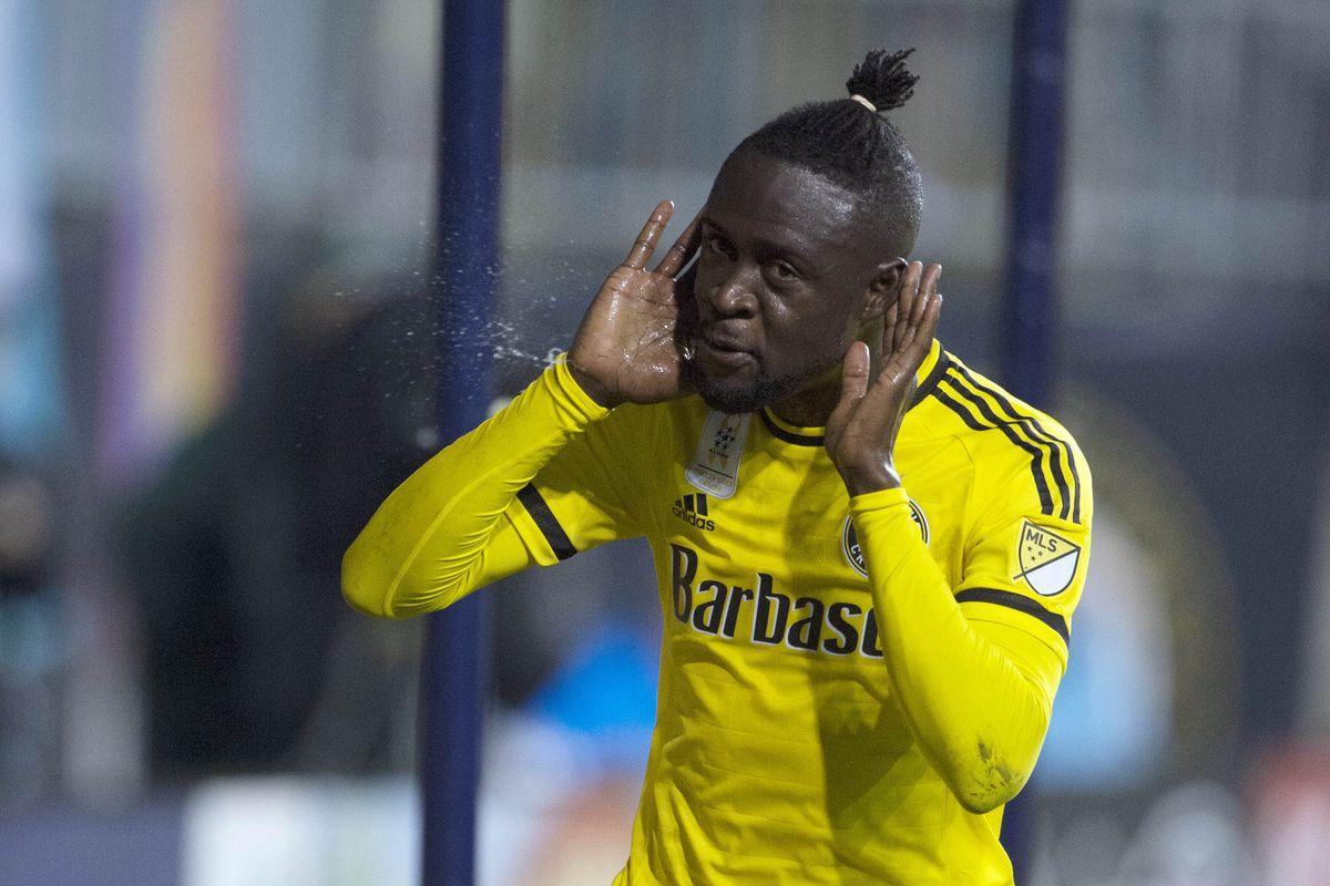 We hear you Kei Kamara, 20 goals scored this season. 19 via one-touch.