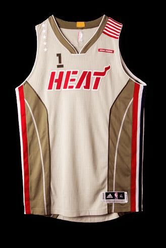 wholesale dealer 9027f 8fce3 miami heat new jersey design