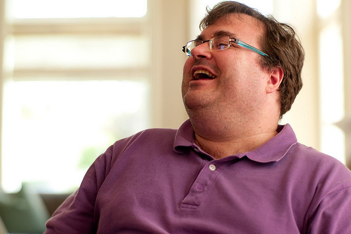 """Reid Hoffman - <a href=""""http://www.flickr.com/photos/joi/3474348877/sizes/z/in/photostream/"""" target=""""new"""">Image by Flickr user Joi</a>"""