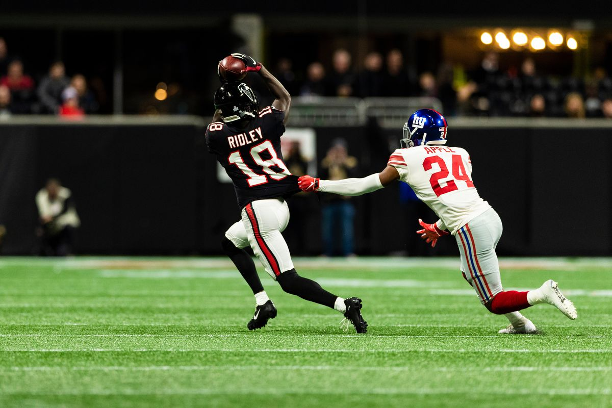 NFL: OCT 22 Giants at Falcons