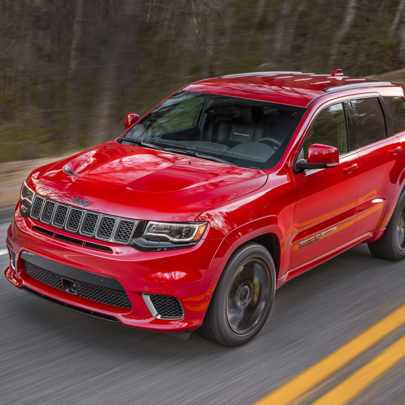 Jeep says the Grand Cherokee Trackhawk is the fastest SUV ever The