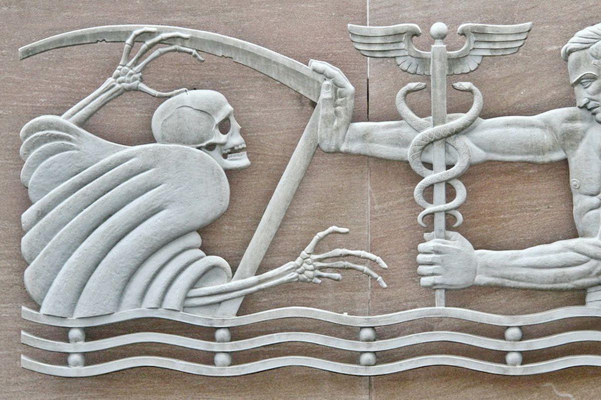 Near grady hospital grim reaper building might soon have