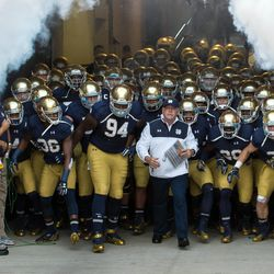 That looks like a team about to put a 31-0 beatdown on some fools from Ann Arbor.