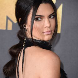 """BEST PRINCESS JASMINE SEGMENTED PONYTAIL: Hair stylist Jen Atkin called this style on Kendall Jenner a """"bubble pony."""""""