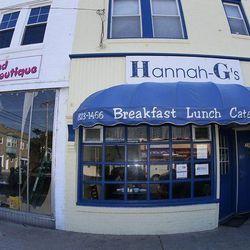 """This mom and pop breakfast spot might not look like much, but the food is delicious. Whether you're in the mood to down a big fluffy omelet or you're ready to indulge in some french toast or pancakes, <a href=""""http://www.hannahgs.com/"""">Hannah G's</a> won'"""