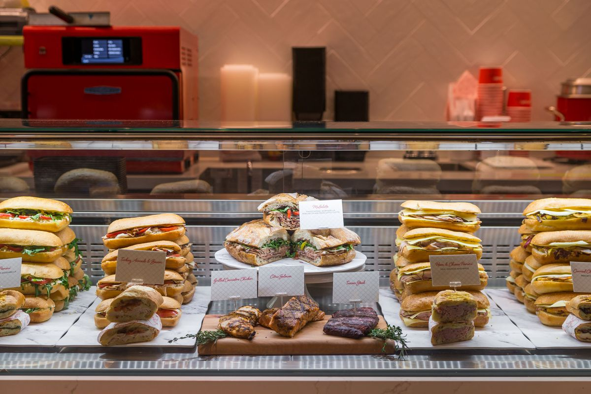 Sandwiches at Pronto by Giada