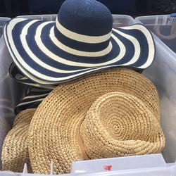 Women's hats, $25