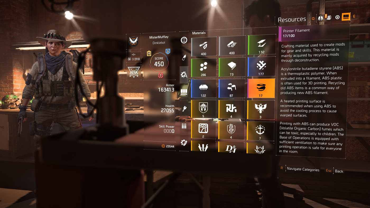 The Division 2 Crafting and Recalibration guide - Polygon