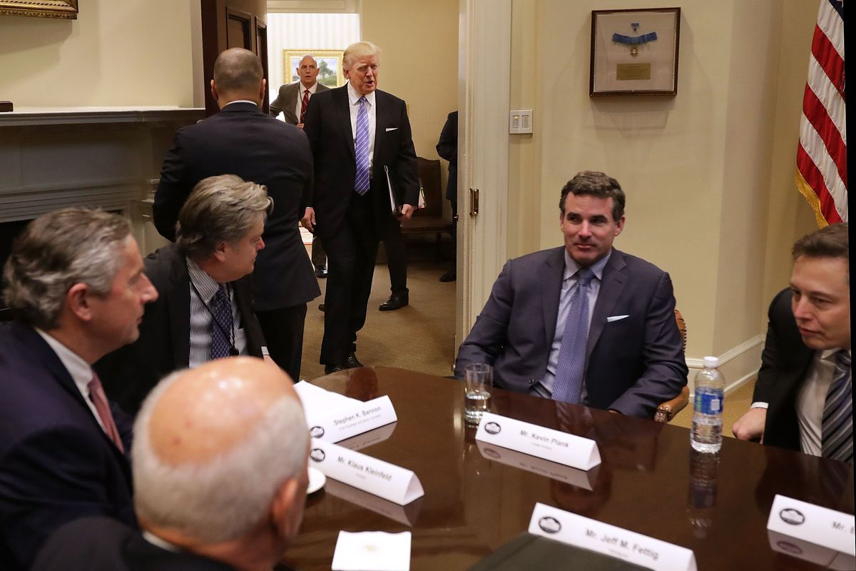 President Trump Holds Listening Session With Business Leaders