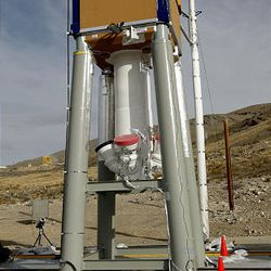 The launch abort system is designed to safely lift the crew module away from the launch vehicle, pulling the crew to safety in case of an emergency on the launch pad or during the initial ascent phase.