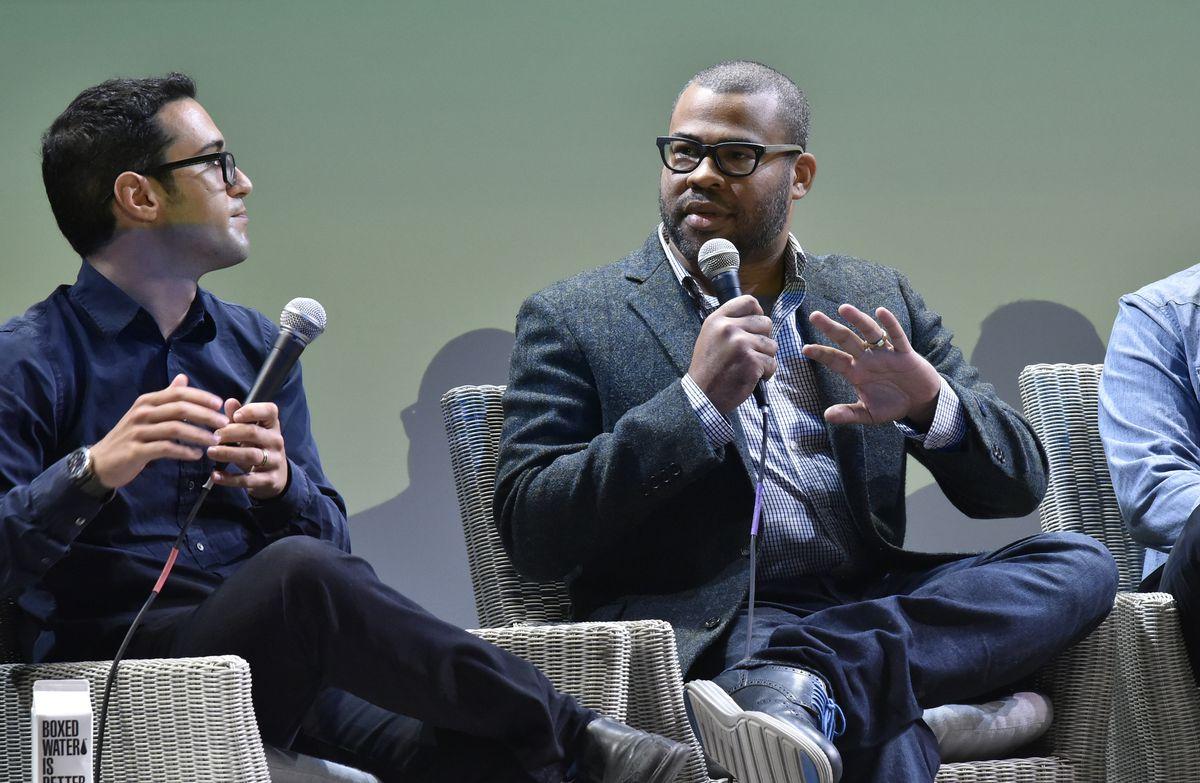 Jordan Peele at the Hamptons International Film Festival 2017