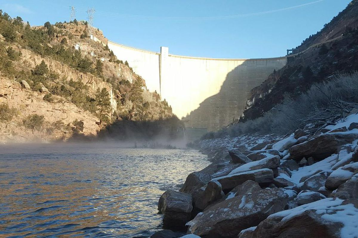 FILE - Flaming Gorge area. The Utah Court of Appeals ruled that a district court judge did not err when he upheld the state engineer's decision granting the diversion of water from Green River for use at a planned nuclear power plant. HEAL Utah had challe
