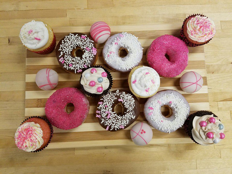 A buncha doughnuts from Angel Donuts