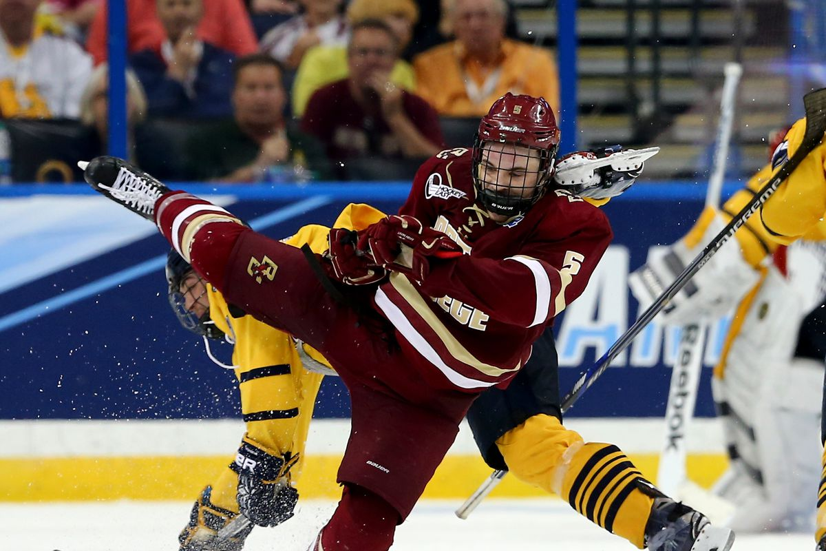 Boston College Mens Hockey Vs Wisconsin How To Watch Bc Interruption